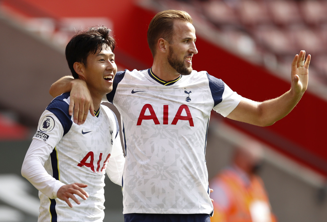 Heung-Min Son (vier goals) en Harry Kane (vier assists en een goal).
