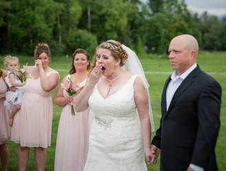 Bruid verrast door geweldig gebaar waardoor overleden zoon op bijzondere manier aanwezig is