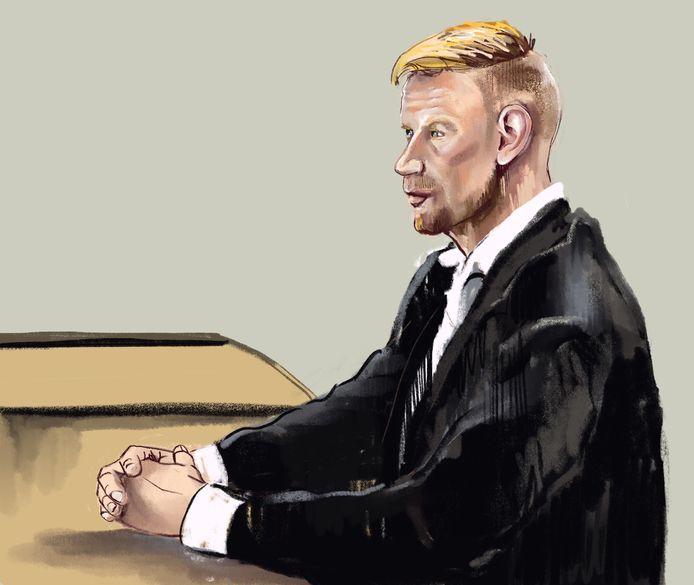 Albert K. vandaag in de rechtbank in Arnhem.