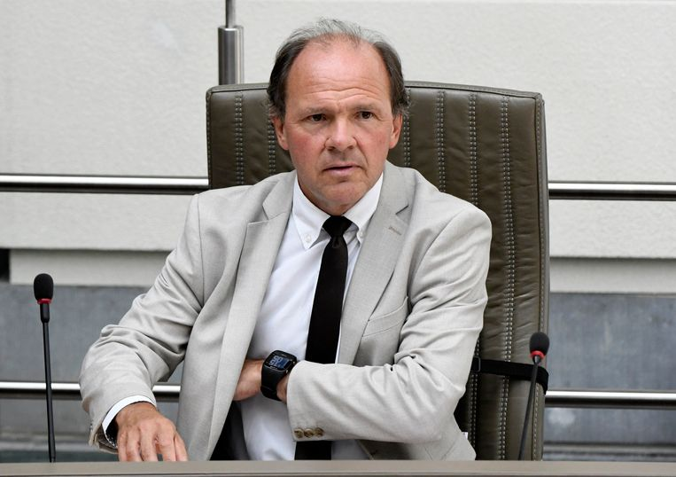 Vlaams minister van Werk Philippe Muyters. Beeld Photo News