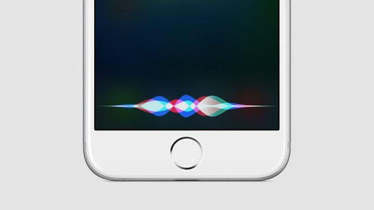 Siri. Beeld apple