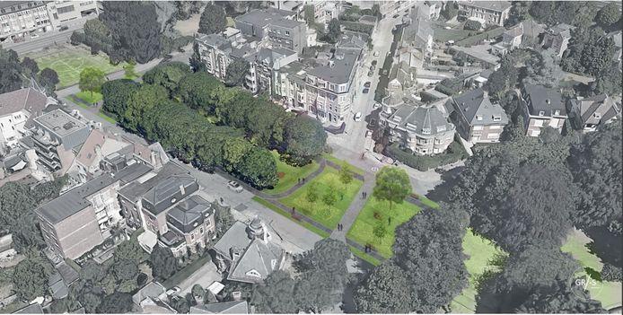 De Stad Gent wil de wegen tussen de verschillende delen van het Paul de Smet de Naeyerpark ontharden, maar daar zijn enkele omwonenden het niet mee eens.