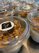 De huisgemaakte granola van Gilberta is één van de publieksfavorieten.