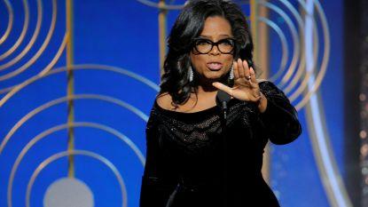 """Oprah zorgt voor hét moment van de Golden Globes met krachtige speech: """"Ik hoop dat er nu veel kleine meisjes naar me kijken"""""""