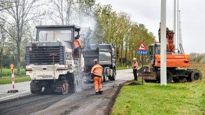 Wegenwerken N41 schieten op: al twee stroken asfalt vernieuwd, zaterdag weg weer open