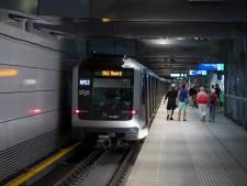 Metroverkeer lag opnieuw plat door storing nieuw systeem, wordt weer hervat