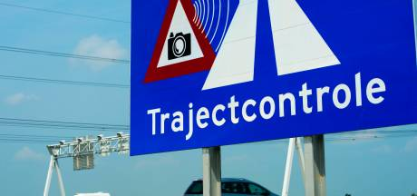 Trajectcontrole op provinciale weg tussen Baarle-Nassau en Chaam