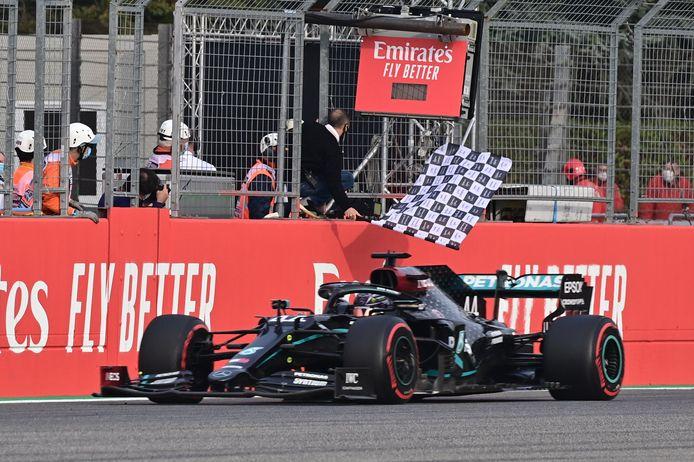 Lewis Hamilton was opnieuw de primus op Imola.