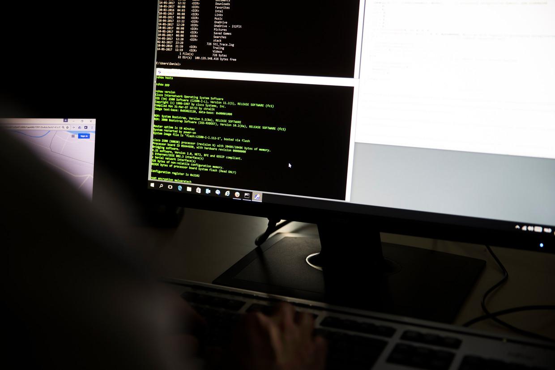 Hackers voerden dinsdag een grote aanval op overheidssites uit.