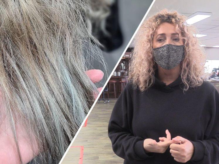 Andrélon haarmasker zorgt voor groen of paars haar: 'Je krijgt het er bijna niet uit'