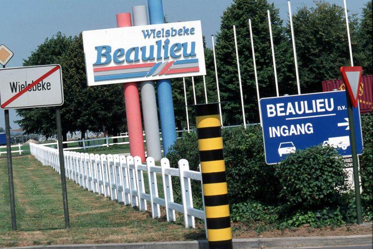 De hoofdzetel van Beaulieu in Wielsbeke. Beeld Photo News / Didier Lebrun