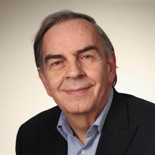 Nico Wiggers, raadslid voor Arnhemse Ouderen Partij AOP in Arnhem.