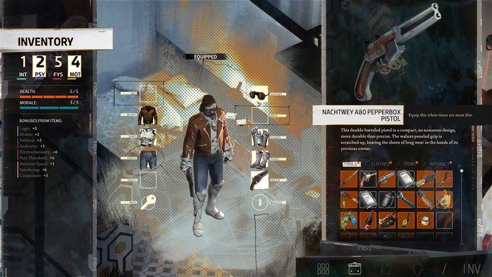 De spelsystemen, waaronder ook de inventaris, gaan bijzonder diep.