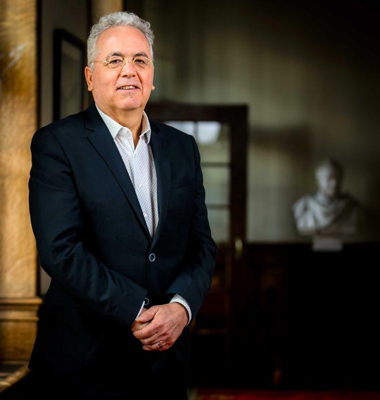 Niko Koffeman, lijsttrekker voor de Partij voor de Dieren (PvdD) in de Eerste Kamer. Beeld ANP