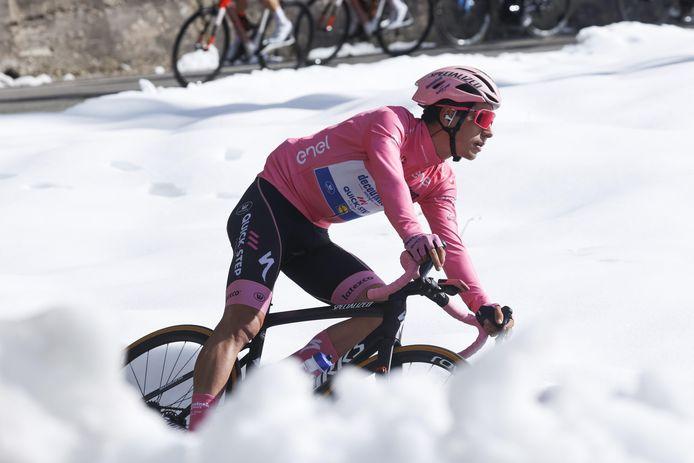 Almeida reed vorig jaar al 15 dagen in de roze trui.