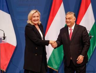 Orban en Le Pen willen nieuwe rechtse partijgroep in Europa
