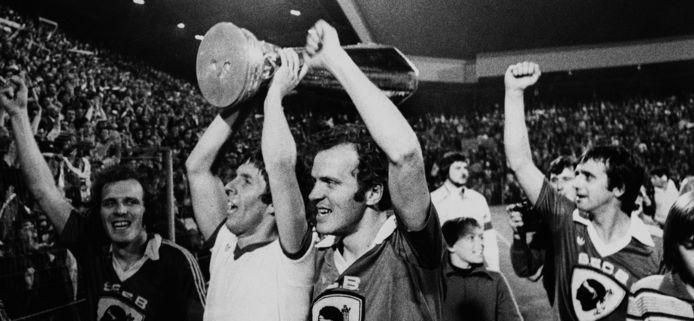 Harry Lubse en Willy van der Kuijlen wonnen in 1978 samen de UEFA Cup. 'Een vriendenteam met Willy als onze aanvoerder.'