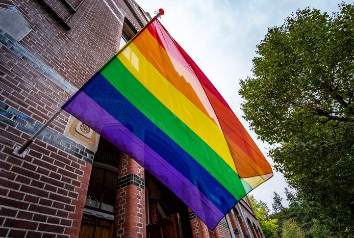 De regenboogvlag, foto ter illustratie