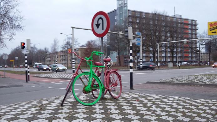 Kruispunt Europaweg met Beneluxweg.