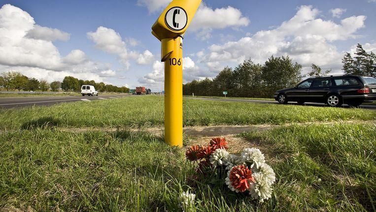 Zorgt de crisis voor minder verkeersslachtoffers? Beeld Arie Kievit