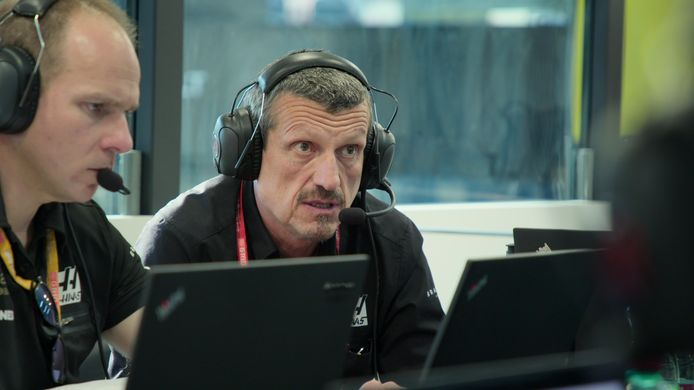 Teambaas Günther Steiner van Team Haas.