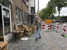 Stellage voor de deur verrast ondernemer Doncurado, '15 terrasplekken kwijt'