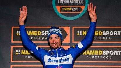 KOERS KORT. Philipsen maakt debuut in Milaan-Sanremo, Deceuninck-Quick.Step trekt kaart Alaphilippe-Viviani in La Primavera