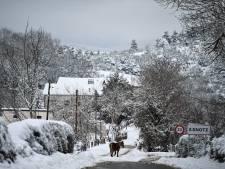 Vague de froid sans précédent en Espagne: un record de -35,8° et 50 cm de neige attendus près de Madrid