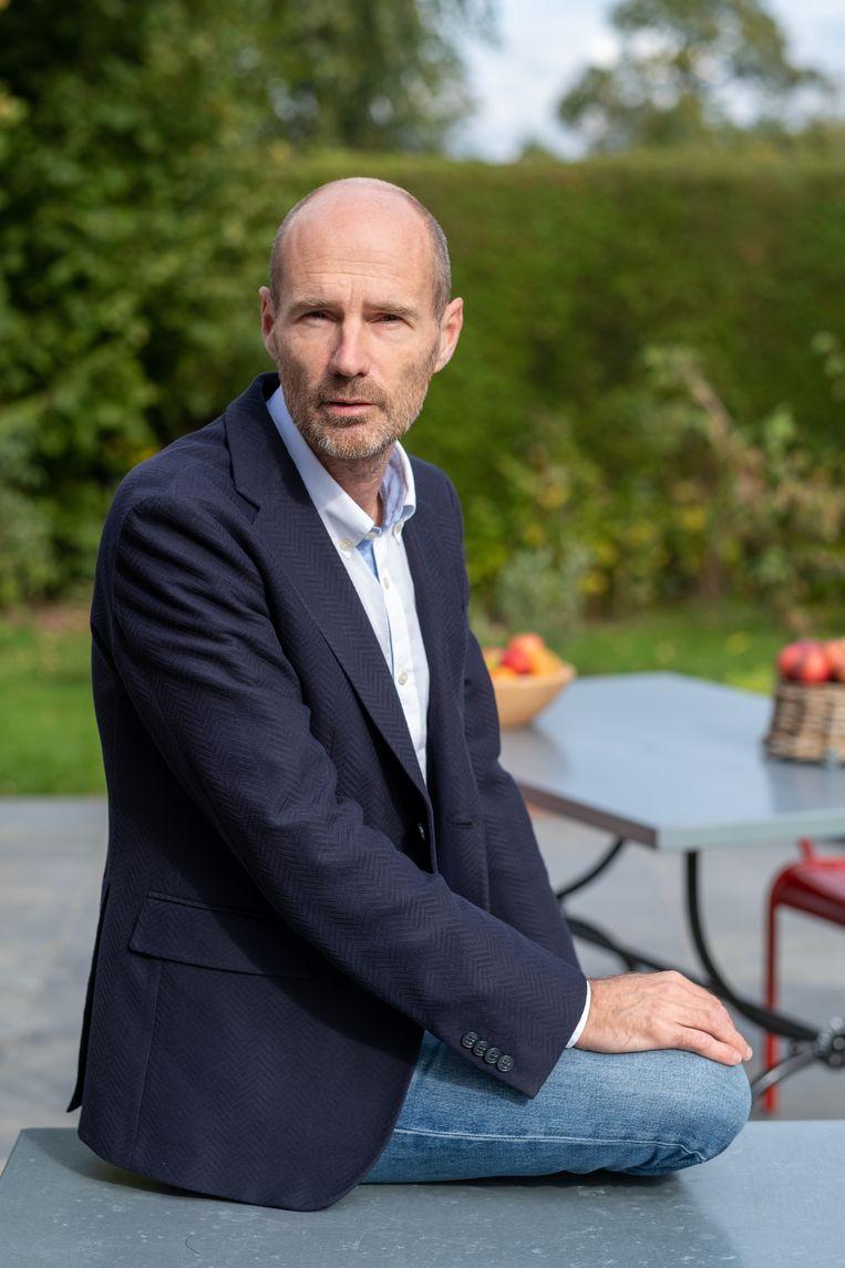 Wim Verhoeven: 'Wij willen onder andere verhalen brengen van ondernemers, zodat die op hun beurt andere ondernemers kunnen inspireren.' Beeld David Legreve