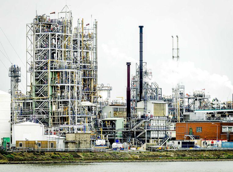 Chemiebedrijf Chemours in Dordrecht. Beeld ANP