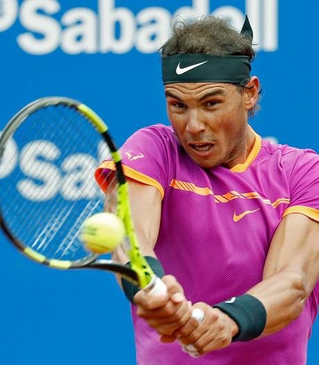 Nadal vakkundig naar kwartfinales in Barcelona