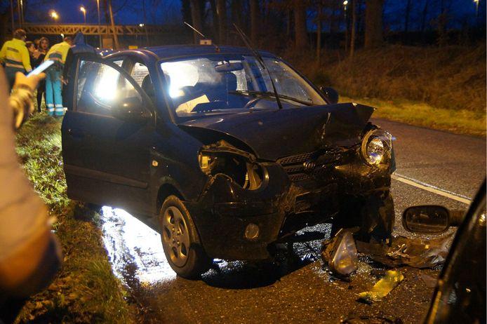 Meerdere gewonden bij ongeval in Drunen