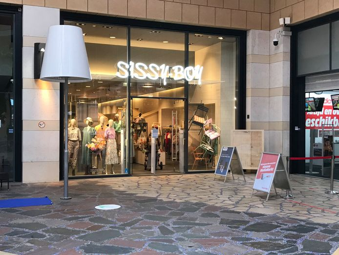 Sissy-Boy Enschede in winkelcentrum De Klanderij sluit maandag 17 mei de deuren.