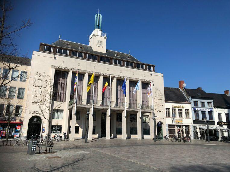 Het stadhuis van Turnhout.