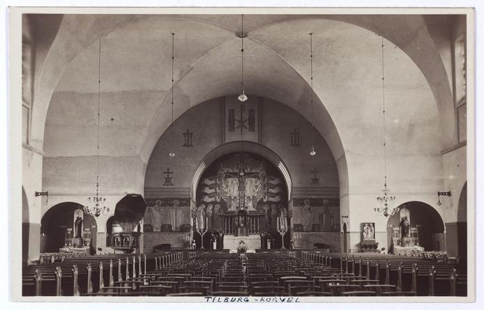 De Korvelse kerk in de jaren '30