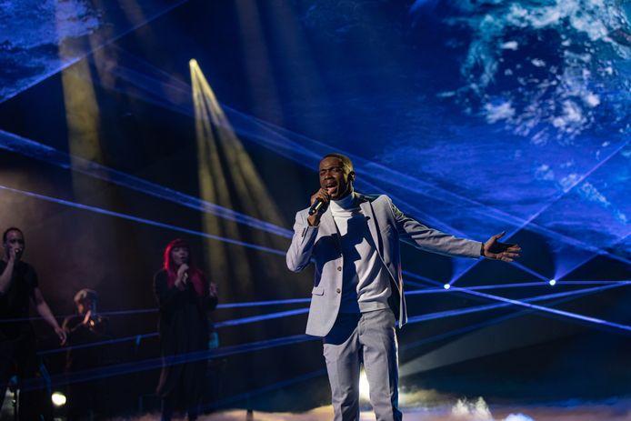 """Jeremie est le grand gagnant de la saison 9 de """"The Voice""""."""