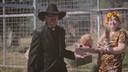 In 'Tiger King' beschuldigt Joe Exotic zijn aartsrivale Carole Baskin ervan dat zij haar echtgenoot gedood heeft en zijn lichaam daarna aan haar tijgers gevoed heeft. Het onderzoek werd naar aanleiding van de reeks heropend.