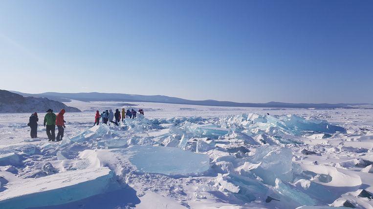 Het Baikalmeer in Siberië. Beeld Tom Vennink