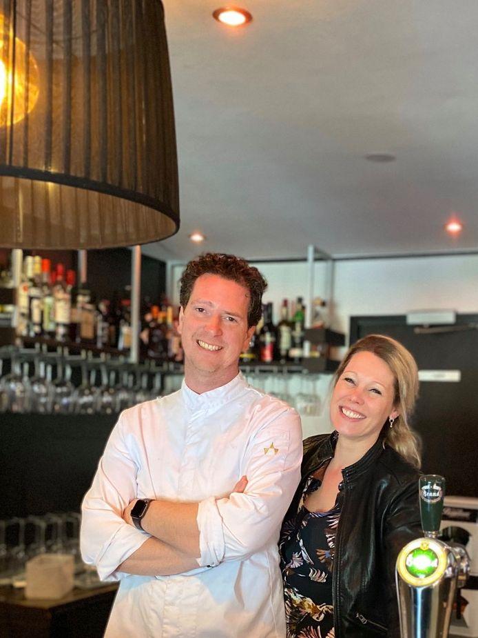 Randy Mollen en echtgenote Jorina.