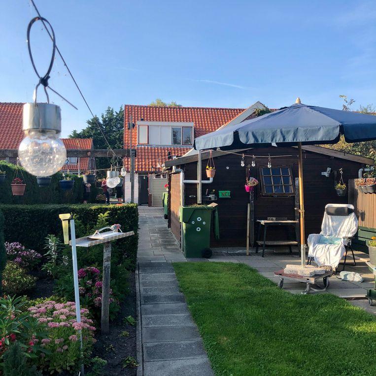 Pieters huis (en tuin). Beeld Toine Heijmans