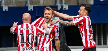 Sparta boekt play-offkraker tegen Feyenoord na knappe zege in Heerenveen