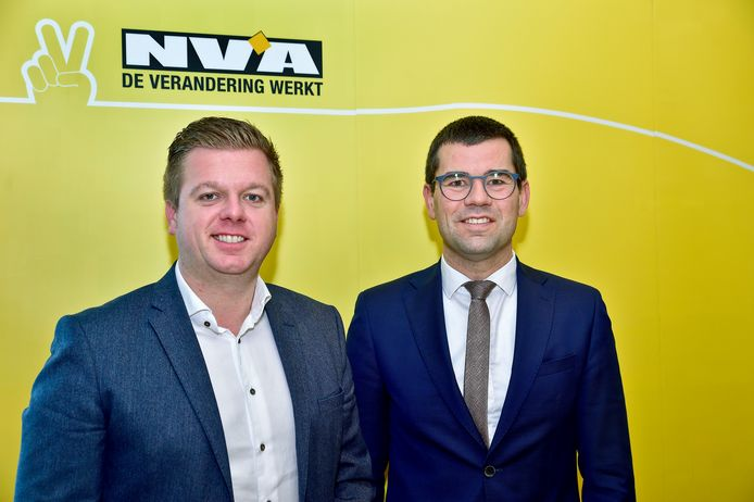 Bert Maertens en Sander Loones.