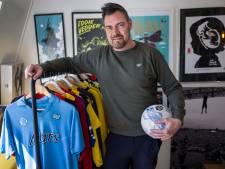 Lekker praten over voetbal: voor Sjoerd Mossou is dat een zalig ritueel