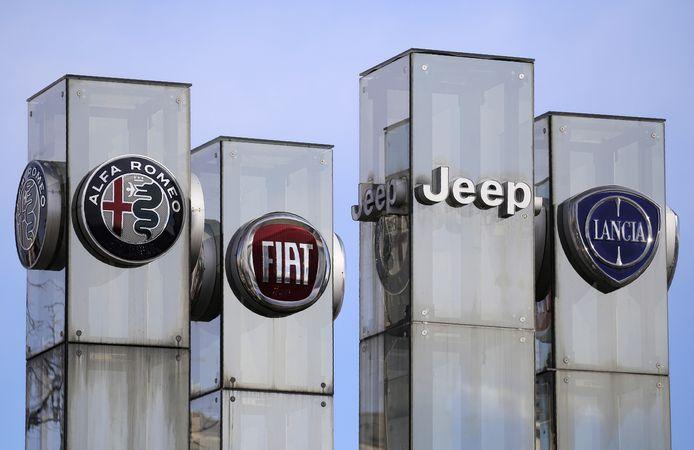 FCA maakt onder meer de merken Alfa Romeo, Fiat, Lancia, Jeep, Dodge en RAM