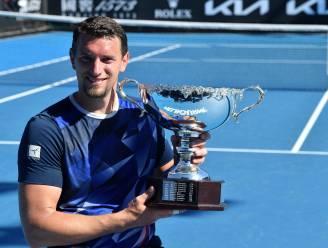 """Rolstoeltennisser Joachim Gérard wint met Australian Open z'n eerste grandslamtitel in het enkelspel: """"Beloning voor het harde werk"""""""