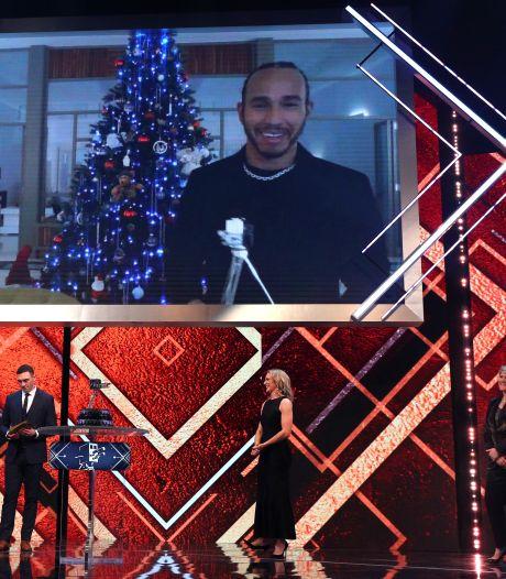 Ook BBC-prijs voor F1-wereldkampioen Hamilton