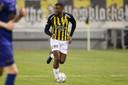 Riechedly Bazoer in het bekerduel van Vitesse met VVV Venlo.