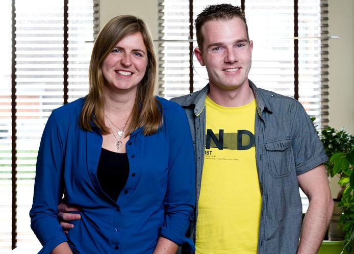 Yvonne Castenmiller & Dennis Koene uit de Lier