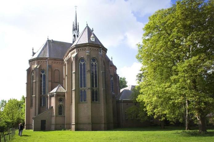 De kerk in Afferden . Foto: Eveline van Elk
