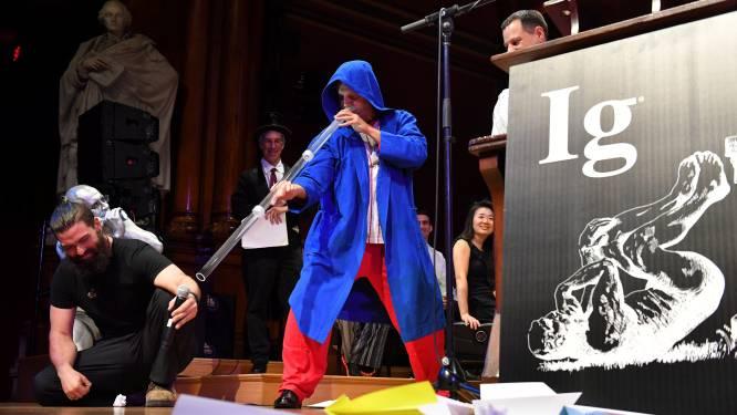 Anti-snurk didgeridoo en vloeibare katten winnen komische tegenhanger van Nobelprijs